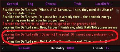 WoW Loramus Übersetzung