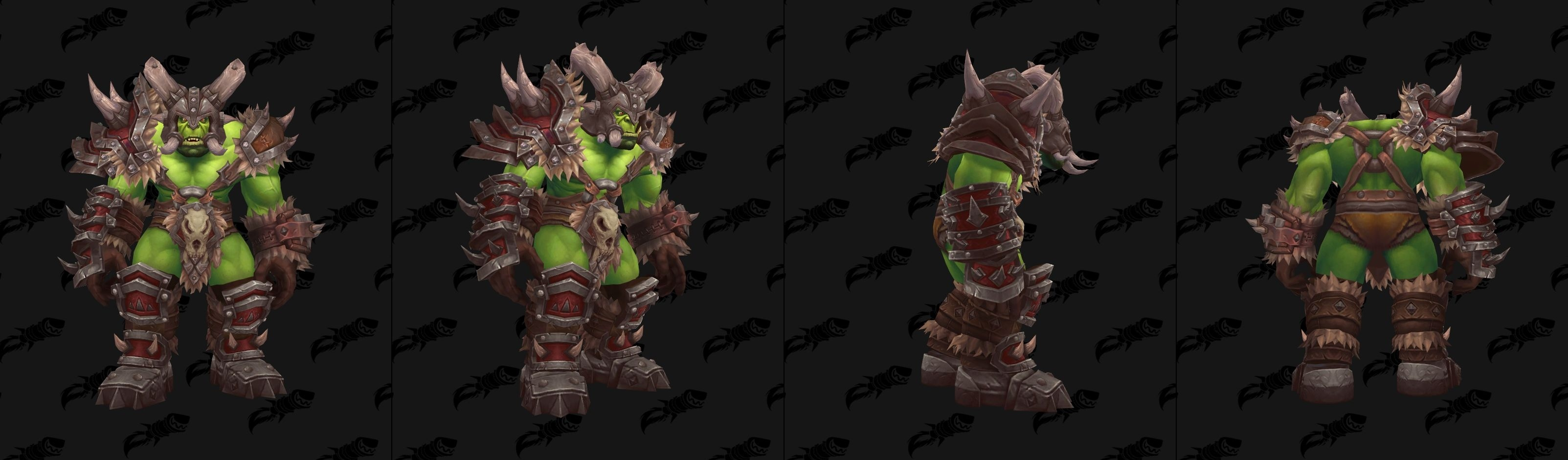 WoW Maghar Allied Race possible Heritage Armor