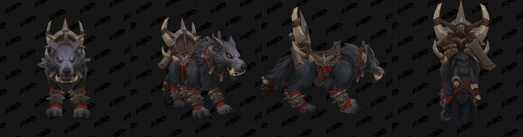 WoW Maghar Dire Wolf Mount
