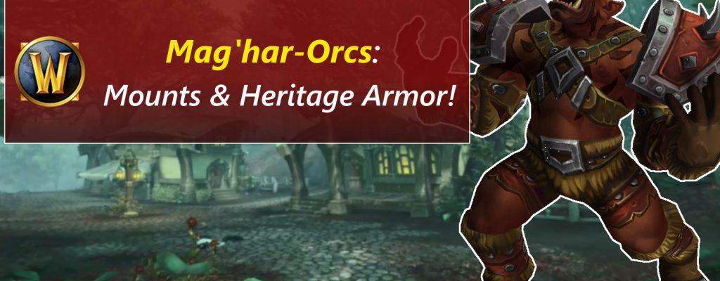 Das Verbündete Volk der Mag'har-Orcs in WoW kommt!