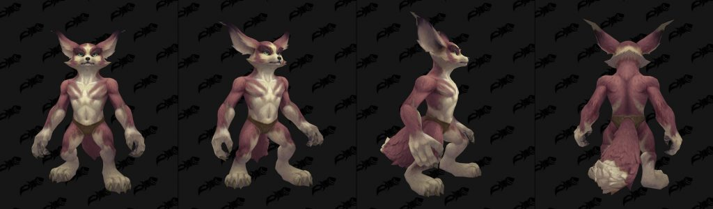 WoW Vulpera Skin Colors 2