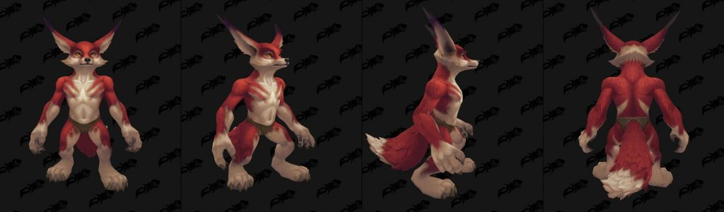 WoW Vulpera Skin Colors 3