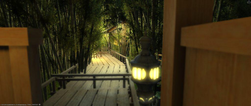 final fantasy xiv housing japanischer garten pfad