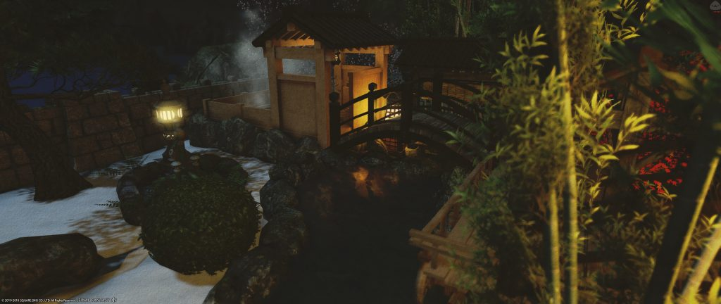 final fantasy xiv housing japanischer garten bad