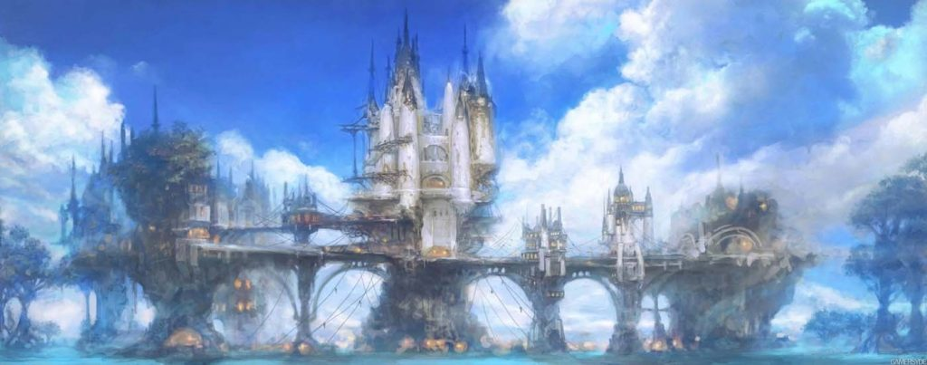 final fantasy xiv limsa lominsa artwork