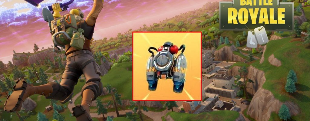 In Fortnite: Battle Royale kommen bald Jetpacks!