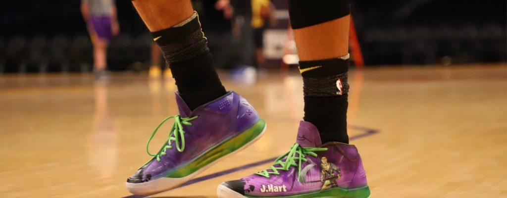Basketball-Pro liebt Fortnite so sehr, dass er diese Schuhe fertigen ließ