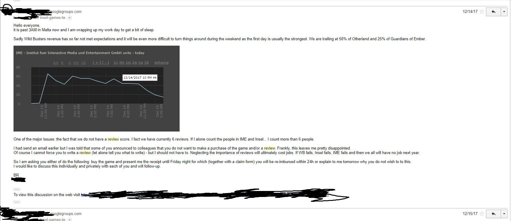 Insel Games Email Leak