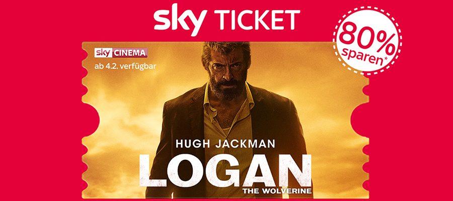 2 Monate Sky Ticket für 9,99 Euro – 80% Rabatt auf Filme und Serien