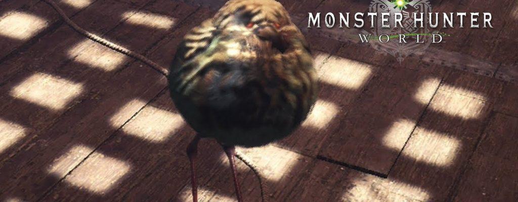 Borsten für alle – Fangt das seltene Kraushuhn in Monster Hunter World