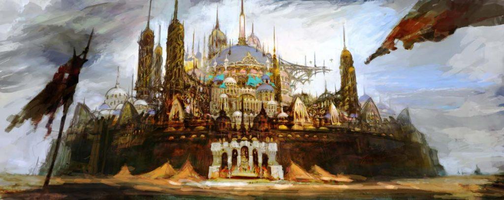 final fantasy xiv uldah artwork