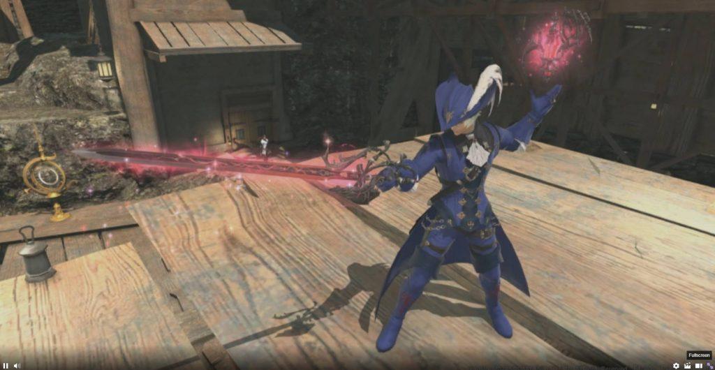 final fantasy xiv rotmagier job-spezifische rüstung