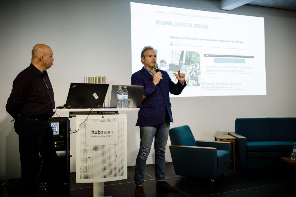 Niantic auf der 5G-Konferenz