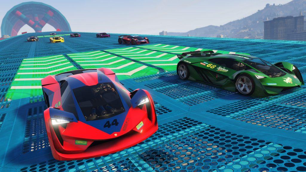 GTA 5 Online Spezialrennen