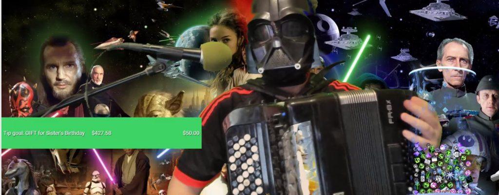 Schurken von EVE Online machen Akkordeon-Spieler auf Twitch glücklich