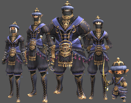 final fantasy xi blaumagier artifact armor