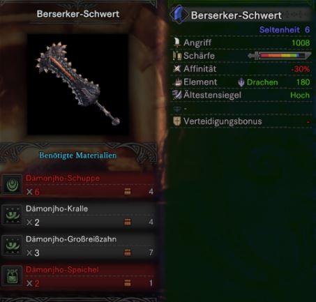 Berserker-Schwert