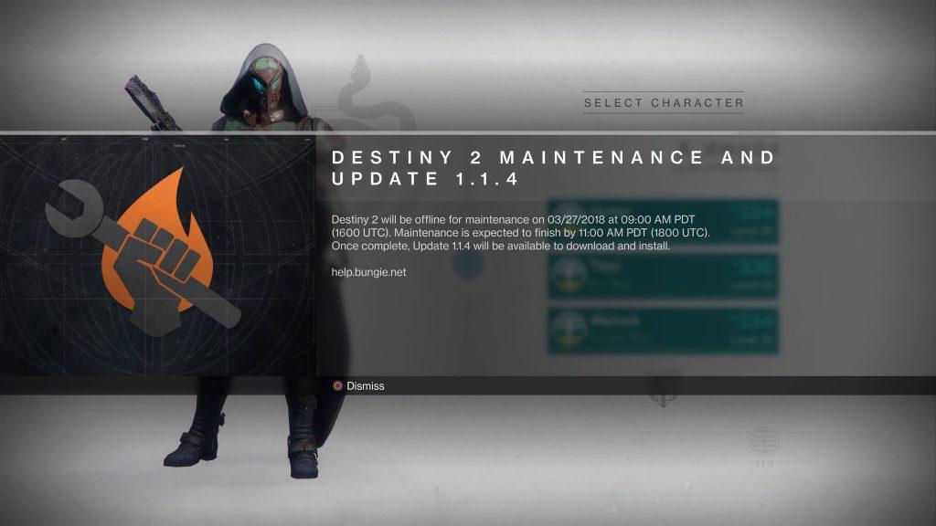 Destiny 1.1.4