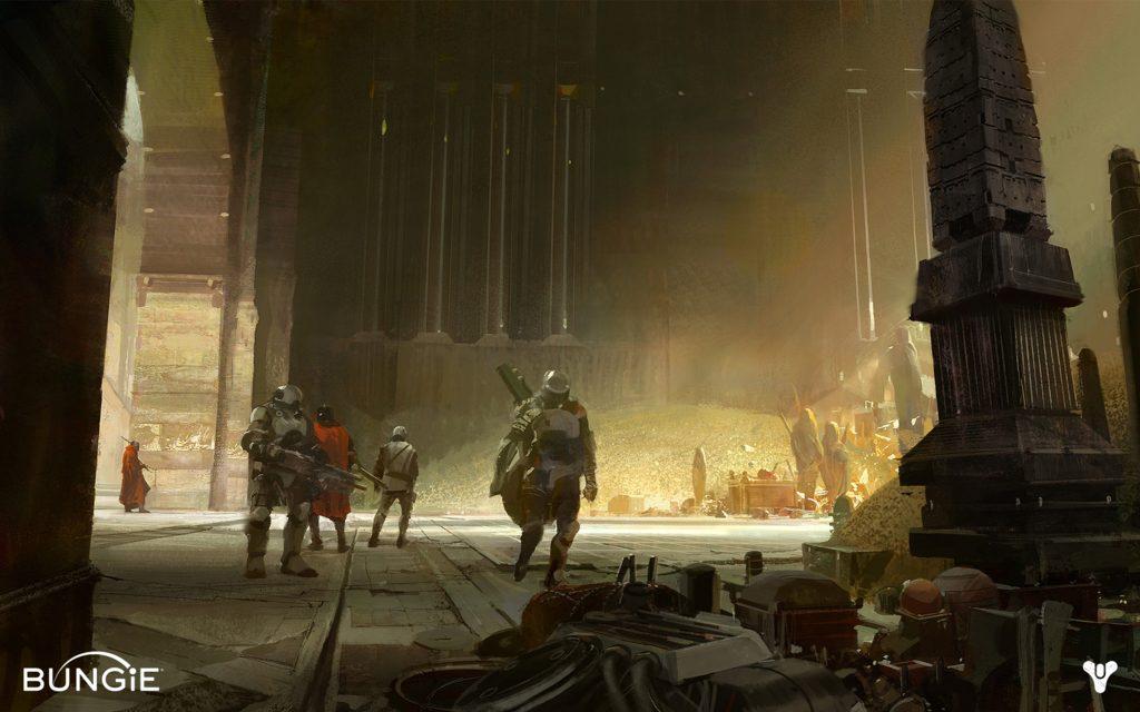 Destiny Charlemagnes vault