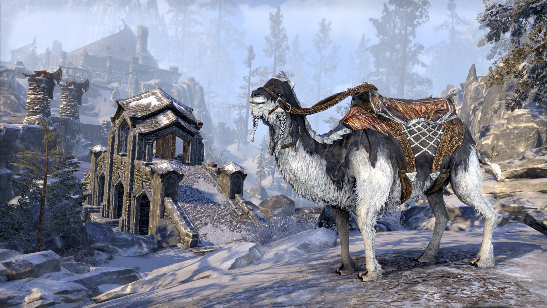 eso how to buy mount