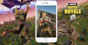 Fortnite IOS Titel