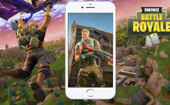 Fortnite IOS Smartphone Mobile Titel