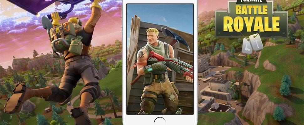 Fortnite: Battle Royale erscheint demnächst auf Smartphones!