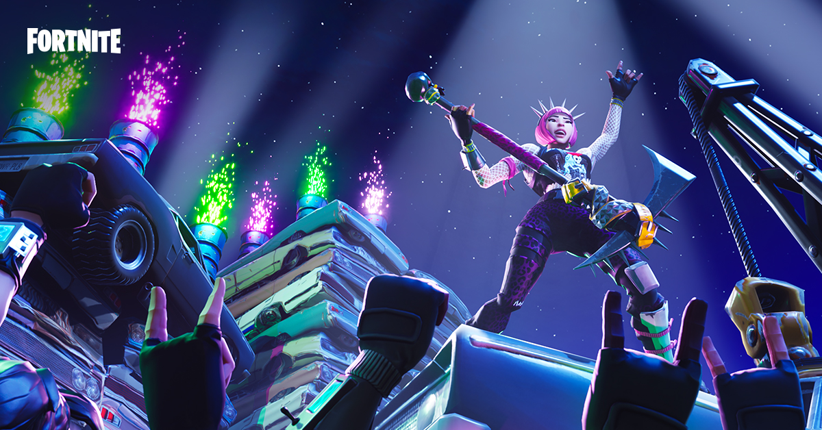 Fortnite-Punk-Rock-Titel