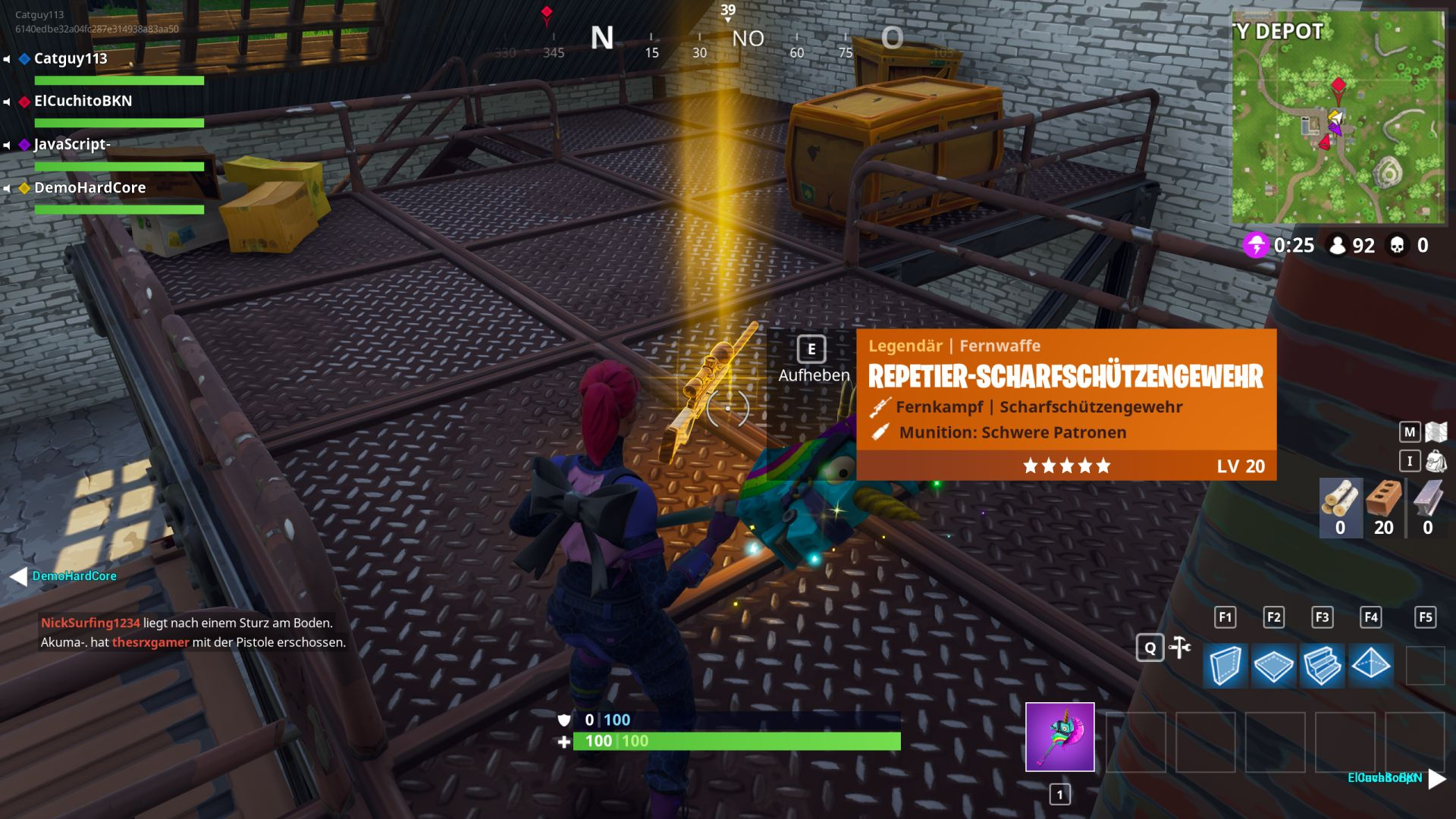 So Geht Crossplay In Fortnite PS PC Xbox One Switch Handy - Minecraft pc und handy zusammen spielen