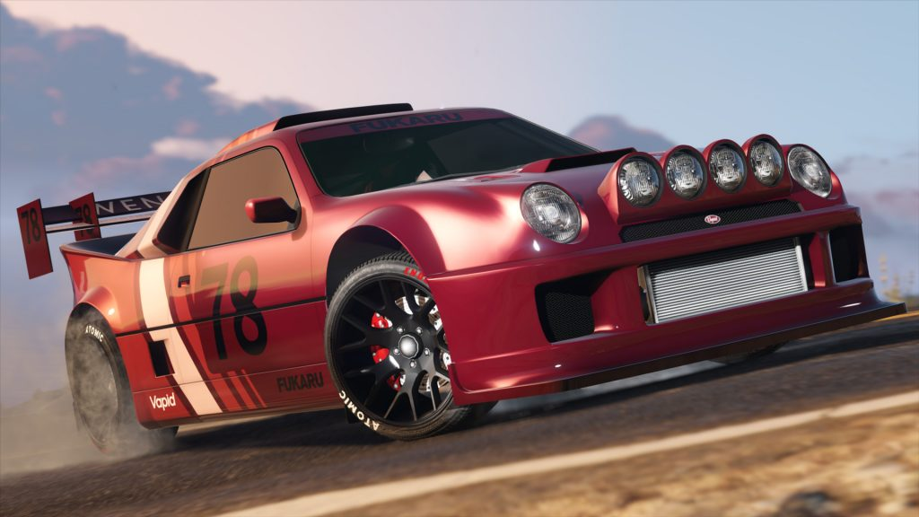 GTA 5 Online Vapid GB200