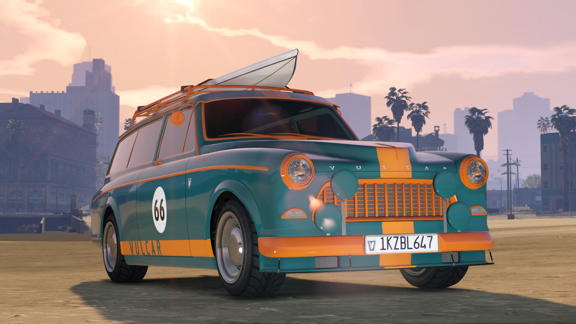 GTA 5 Online Vulcar Fagaloa