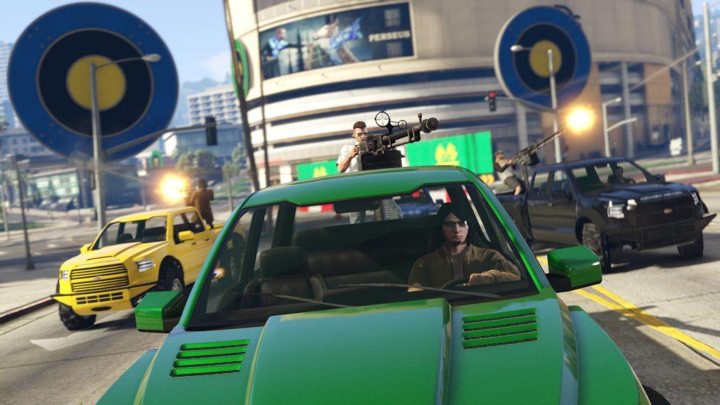 GTA 5 Online zielscheibenrennen