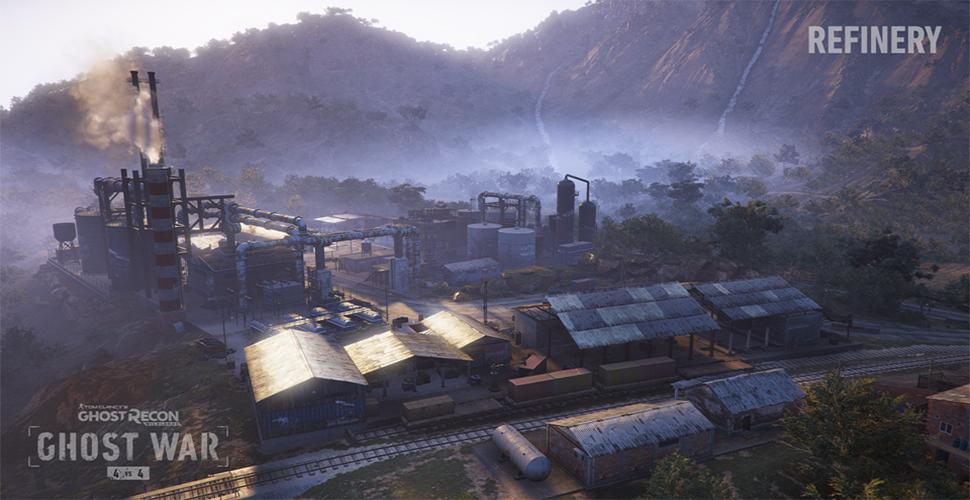 Ghost Recon Wildlands Raffinerie