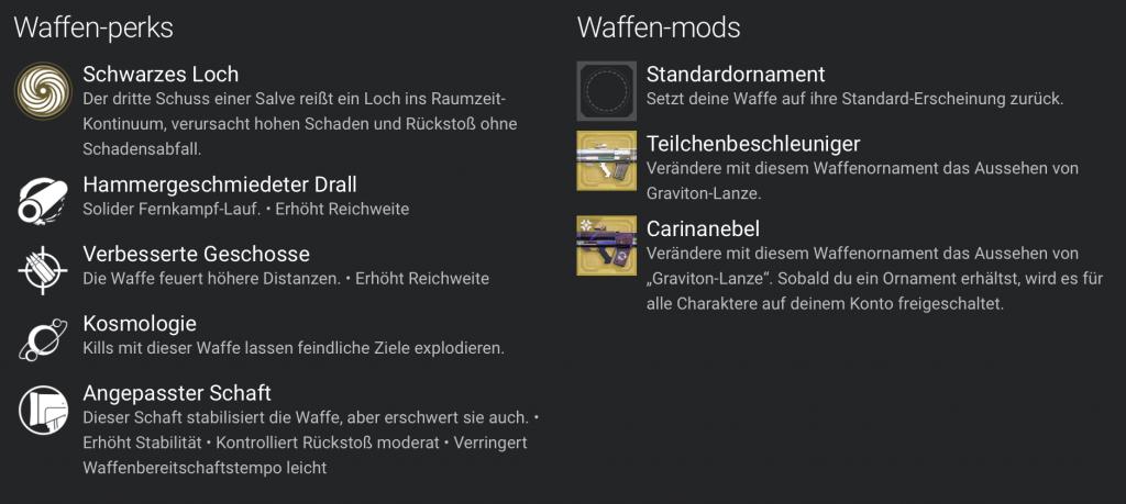 Destiny 2 Graviton-Lanze 2
