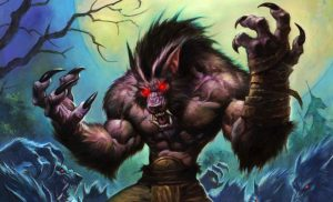 Hearthstone Raging Worgen Full Art