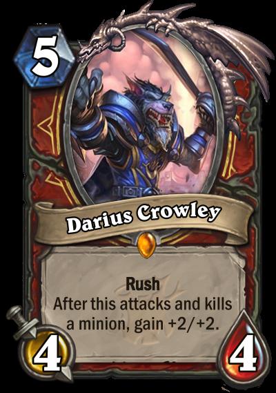 Hearthstone Witchwood Darius Crowley