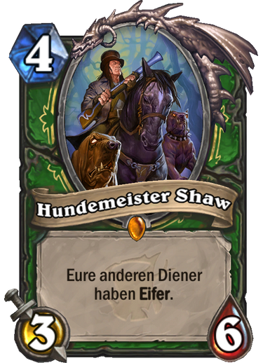 Hearthstone Witchwood Hundemeister Shaw