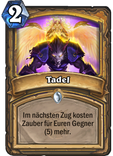 Hearthstone Witchwood Tadel