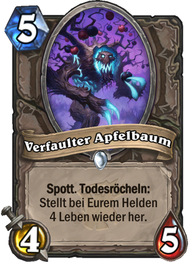 Hearthstone Witchwood Verfaulter Apfelbaum
