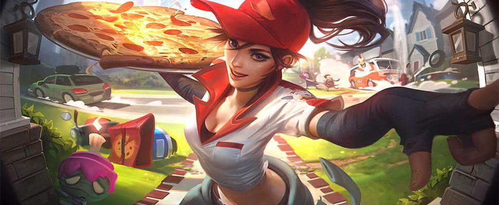 In LoL 8.6 wirft man bald mit Pizzen und spielt verrückte Hühner