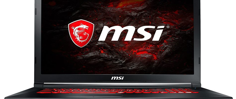 MSI GL72MVR 2018 Gaming-Notebook mit Core i7 und GTX 1060 zum Bestpreis
