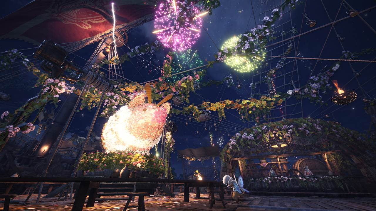Monster-Hunter-World-Frühling-Poogie