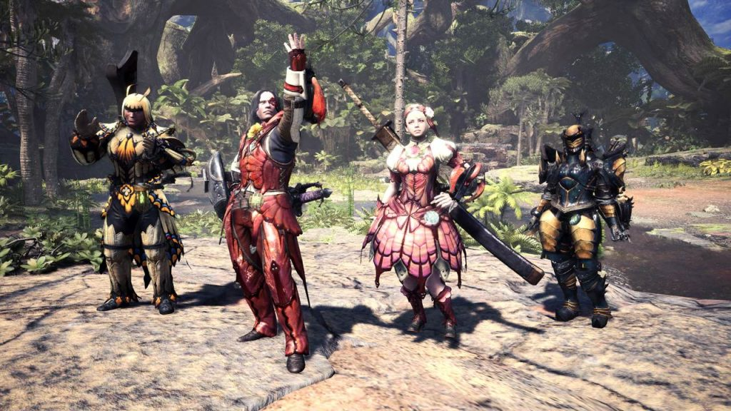 Monster Hunter World Spring Rüstung