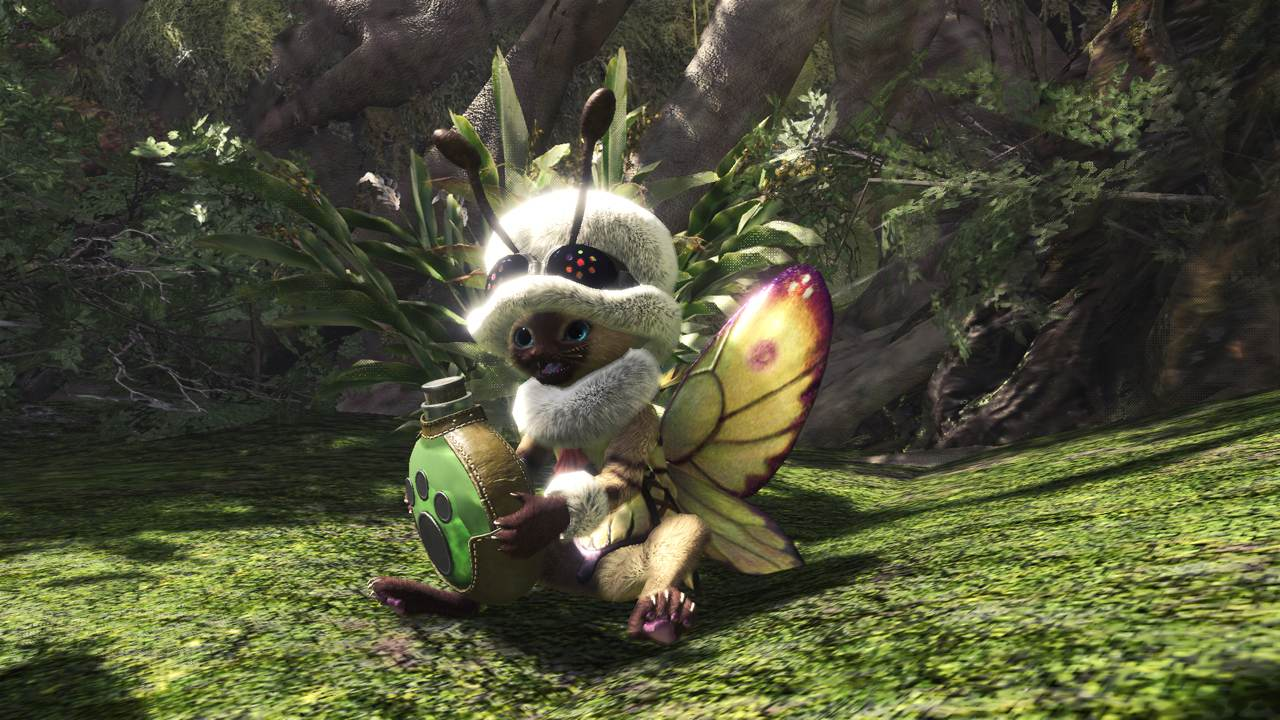 Monster-Hunter-World-Palico