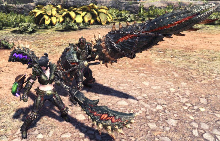 Monster-Hunter-world-Waffen