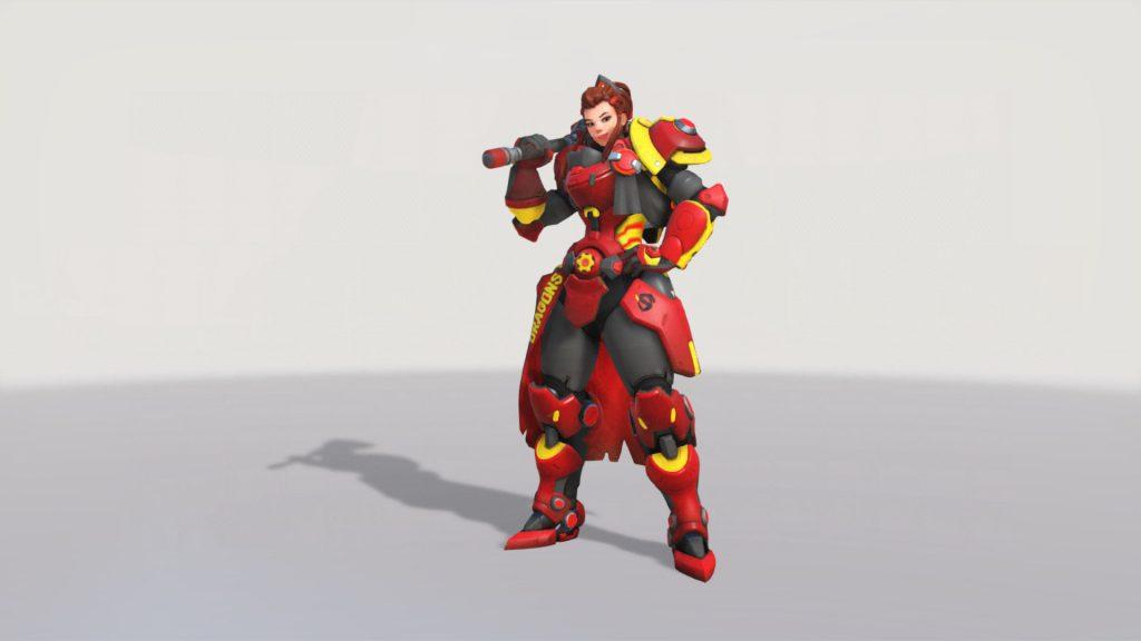 Overwatch Brigitte Overwatch League Skin Shanghai Dragons