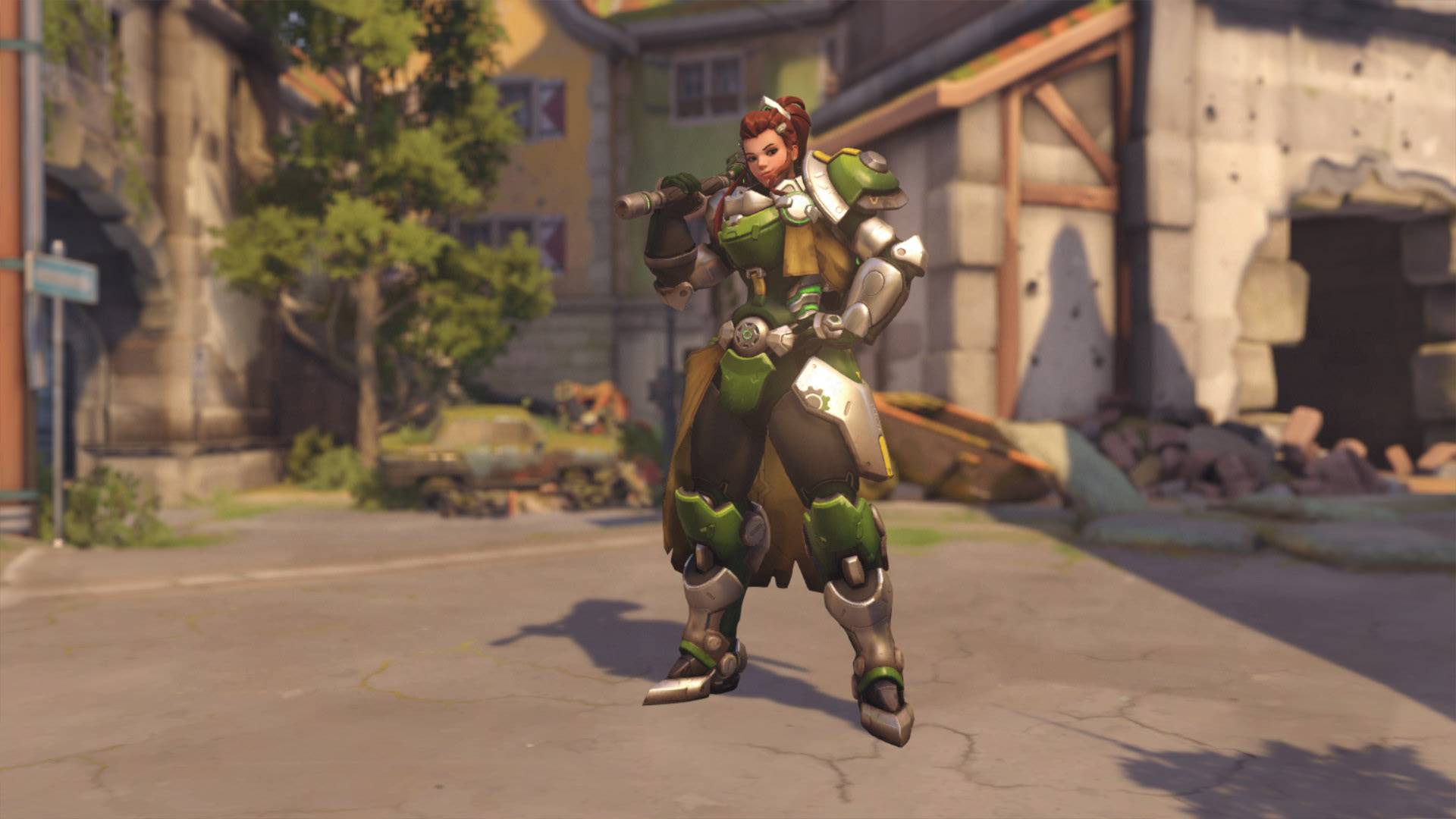 Overwatch Brigitte Skins Grön