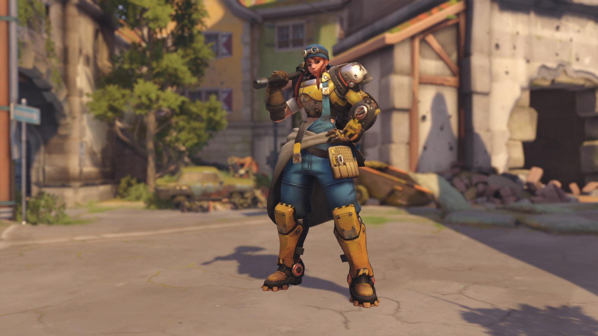 Overwatch Brigitte Skins Mechanic