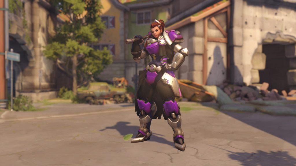Overwatch Brigitte Skins Plommon