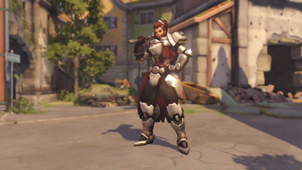Overwatch Brigitte Skins Röd